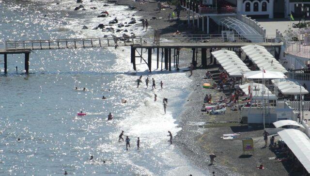 У берегов Алушты утонул человек