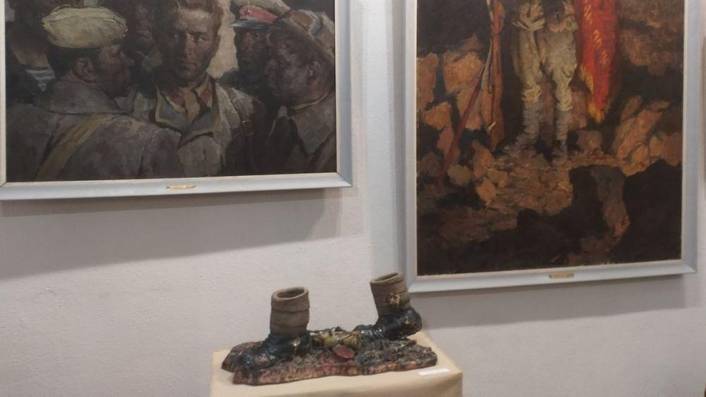 Керченская картинная галерея представила выставку одного экспоната из цикла «Дороги: от Москвы до Берлина»