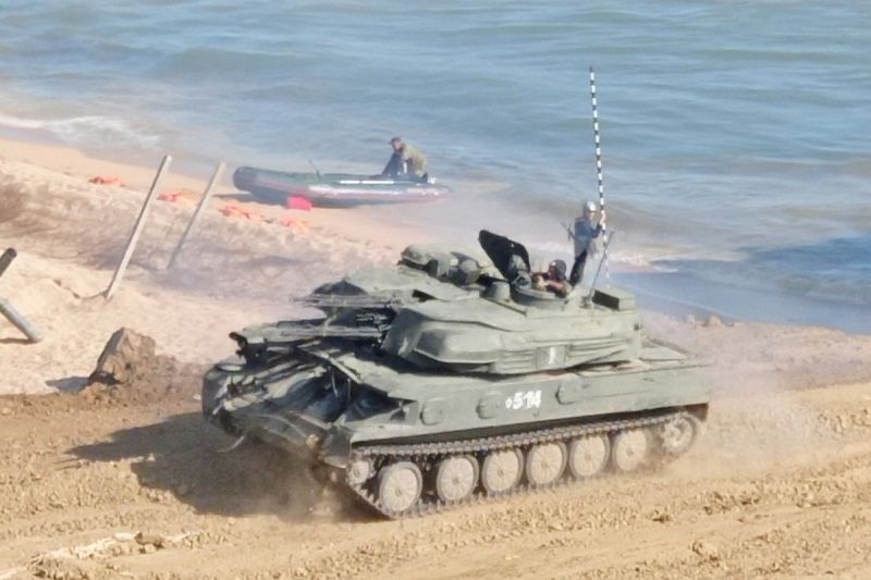 В Крыму прошла тренировка подразделений ПВО Черноморского флота по отражению воздушных ударов