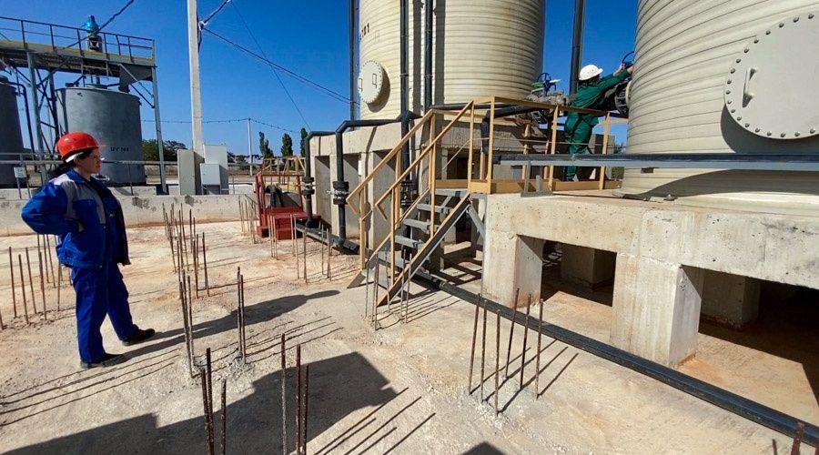 «Титановые инвестиции» запускают станцию нейтрализации кислых стоков на своем крымском заводе