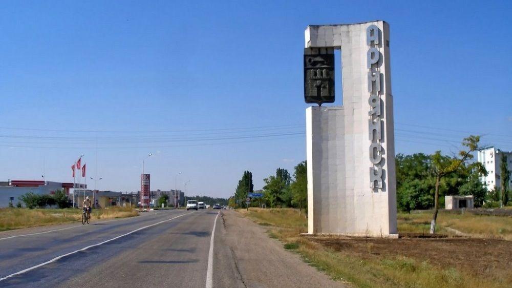 Концентрация хлорида водорода и диоксида серы в атмосферном воздухе городского округа Армянск сохраняется ниже предела обнаружения