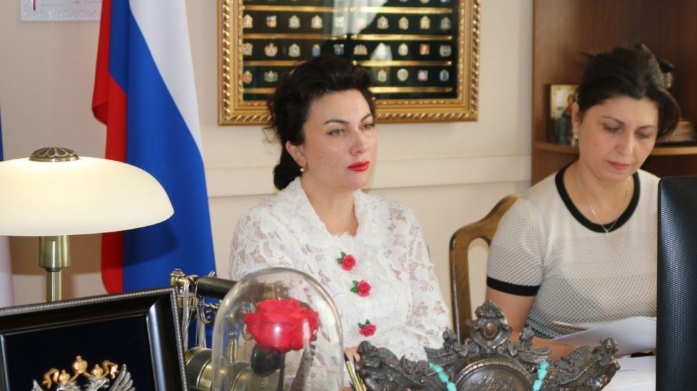 Арина Новосельская приняла участие в ВКС по вопросам федеральной целевой программы