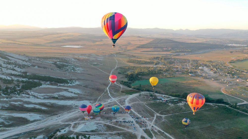 В Крыму стартовал Фестиваль воздушных шаров