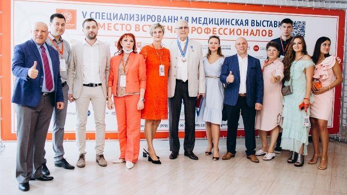 Елена Элекчян приняла участие в открытии выставки «Здравоохранение. Крым 2020»