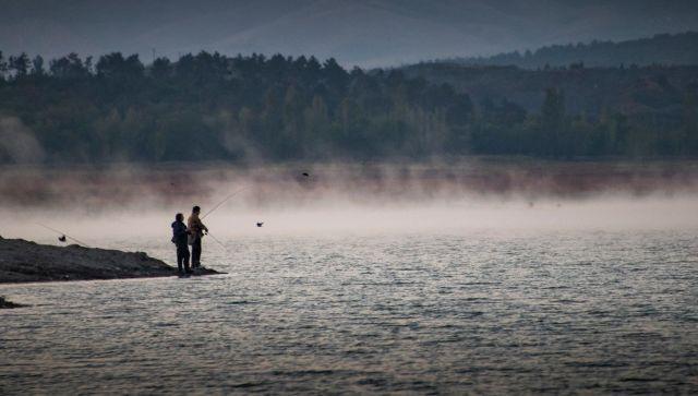 Не клево: сколько рыбы в обмелевшем Симферопольском море