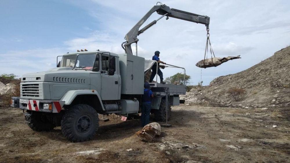 В крепости Керчь обнаружили более 22 тонн боеприпасов за неделю