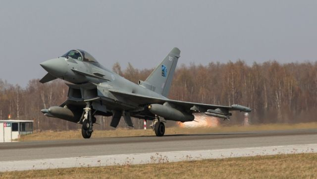Британские военные активизировались у границ РФ над Черным морем