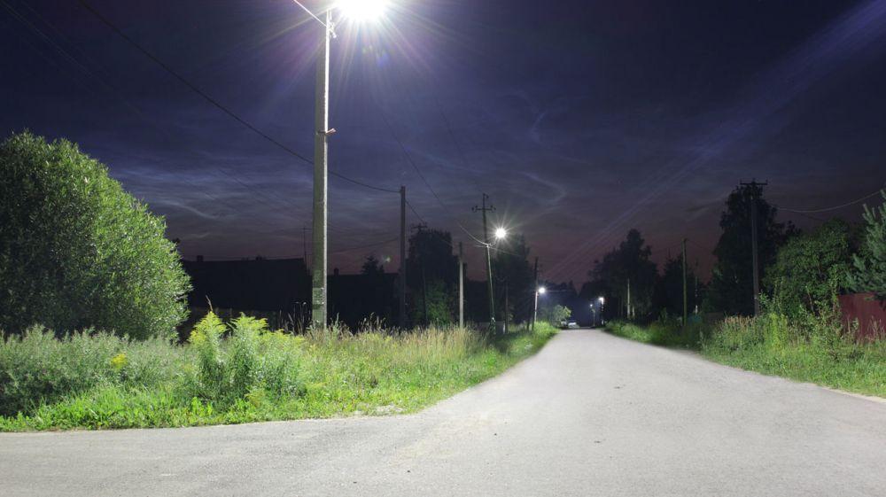 В с.Красный Партизан осветили улицу протяженностью в 1,5 км