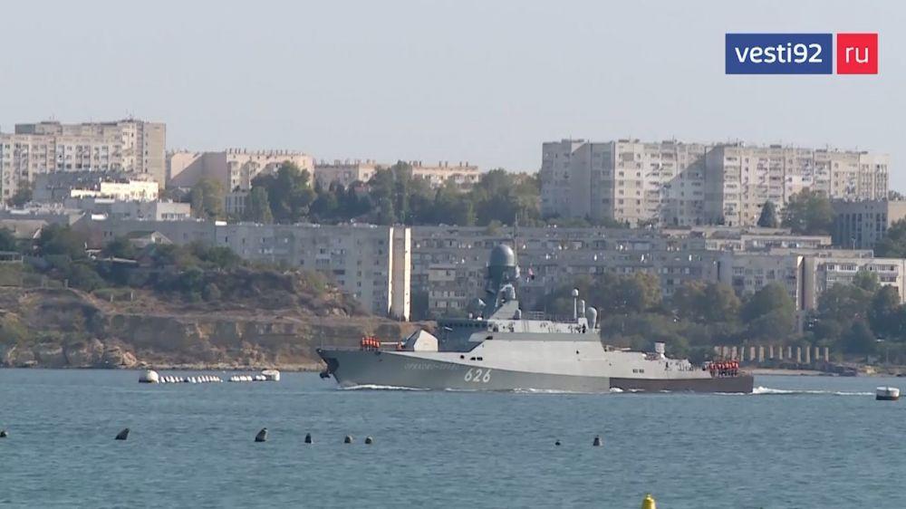 Корабли Черноморского флота вышли в море на учения «Кавказ-2020»