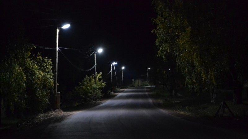 В с. Удачное осветили еще одну улицу