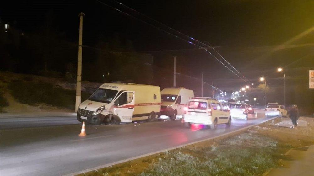 В Севастополе вновь ДТП при участии машины скорой помощи