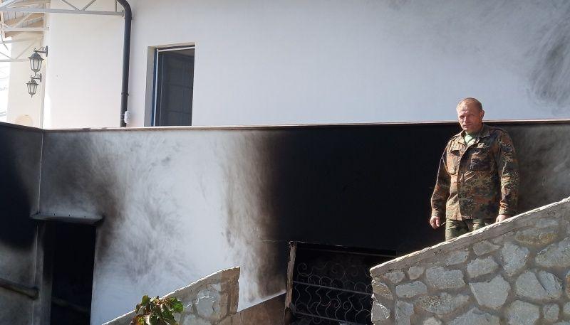 В жизни пожарного каждый день есть место подвигу. Случай в Алуште