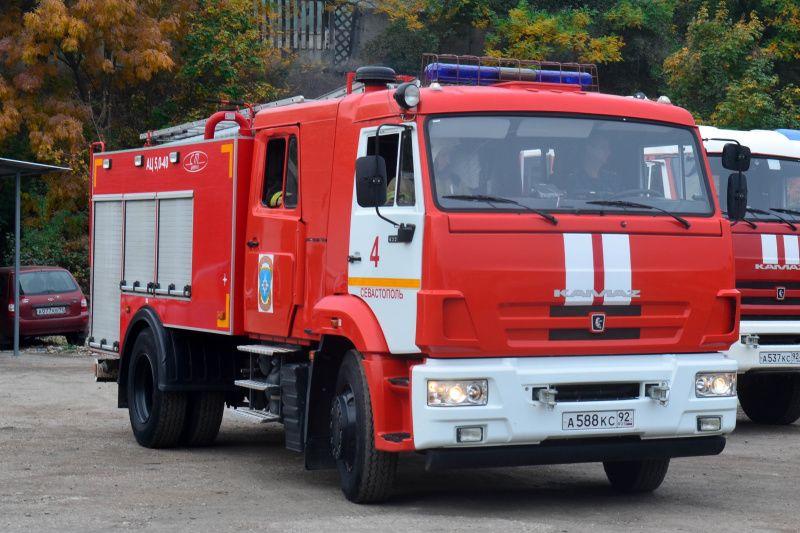 В Севастополе ночью горел фургон гастролирующего цирка