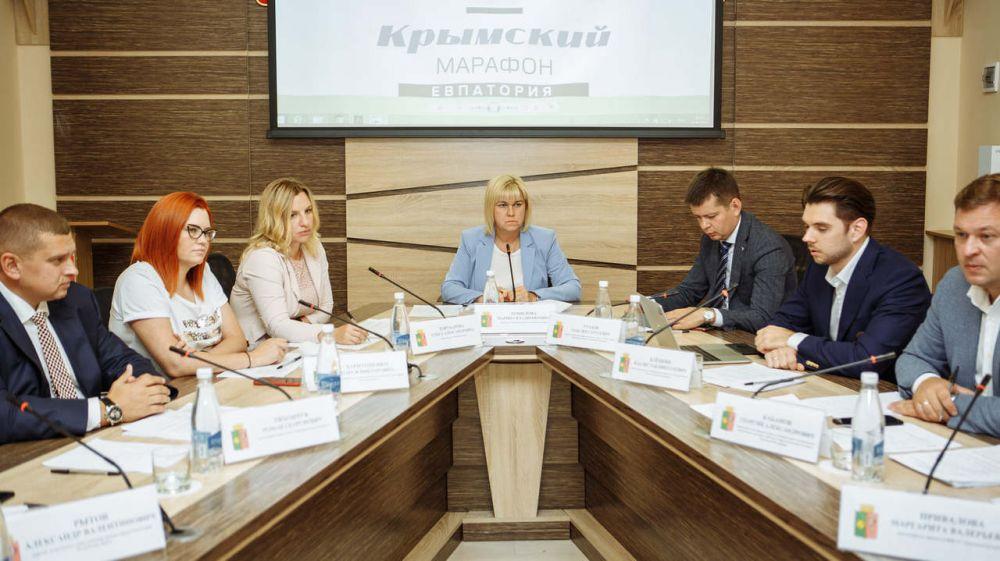 В Евпатории обсудили подготовку к проведению «Открытого Крымского марафона»