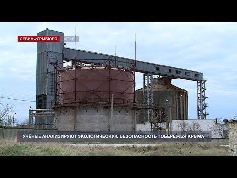 Учёные анализируют экологическую безопасность побережья Крыма