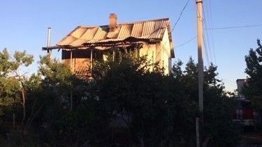 Крымский огнеборец предотвратил крупный пожар
