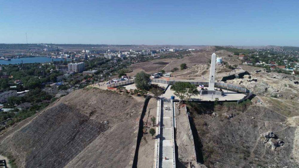С 24.09.2020 г. будет ограничен проезд на верхнюю площадку горы Митридат