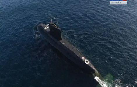 Подводная лодка «Колпино» уничтожила «Калибром» береговые цели