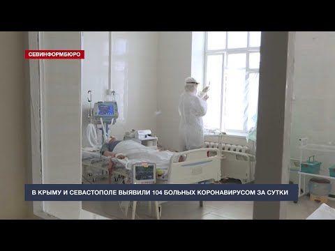 В Крыму и Севастополе выявили 104 больных коронавирусом за сутки