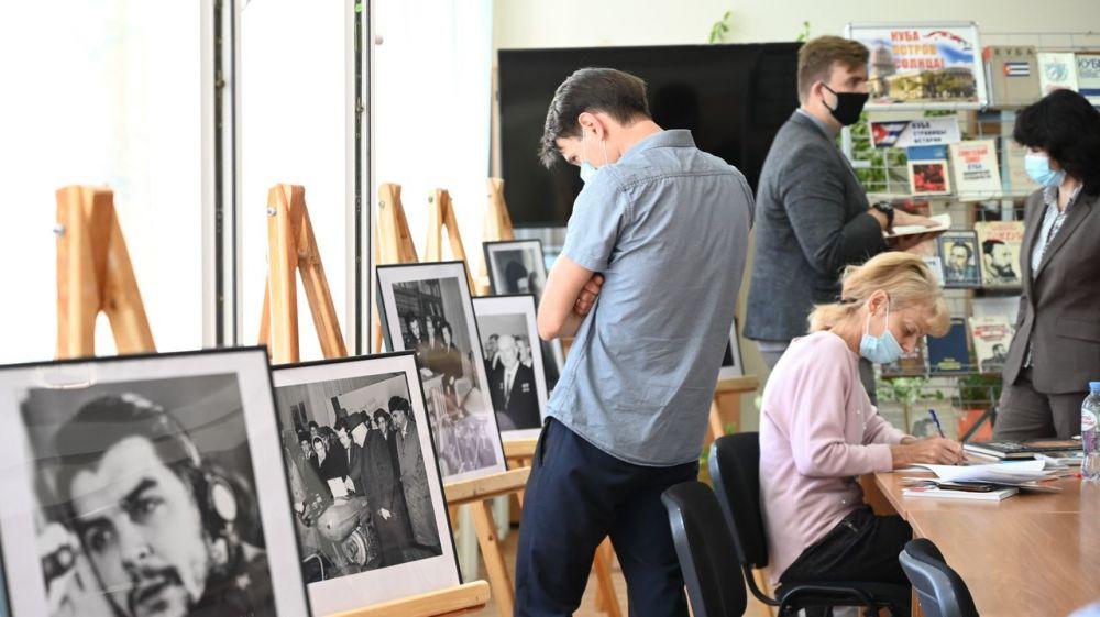 В Крыму открылась книжная выставка, посвященная Кубе