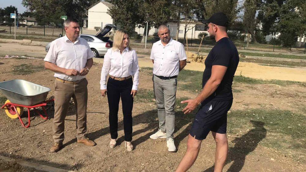 Министр спорта Республики Крым Ольга Торубарова посетила Джанкой