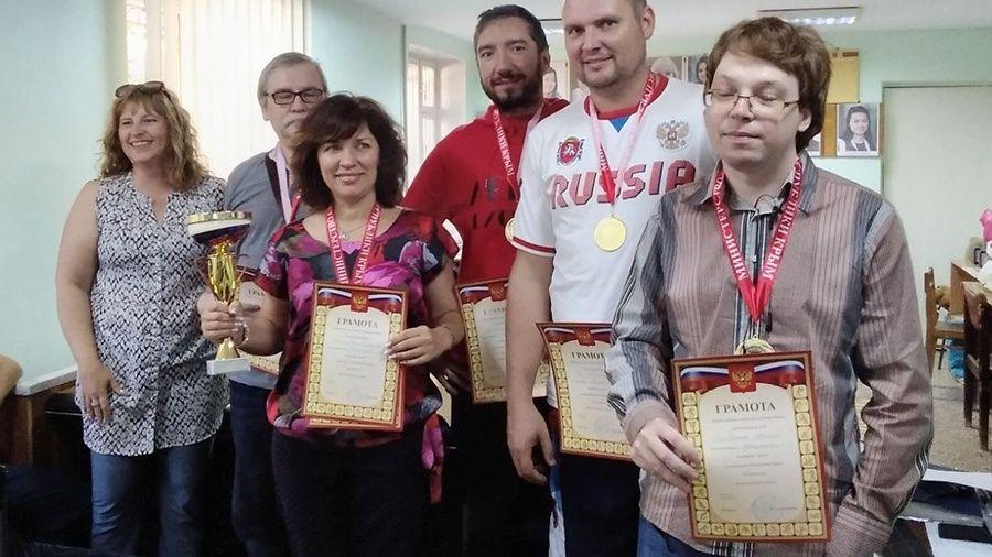 Евпаторийцы выиграли командный чемпионат Крыма по шахматам