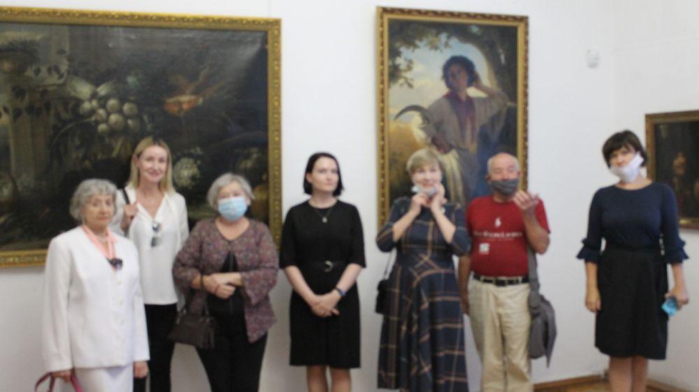 Выставка «Западные мастера: от барокко к импрессионизму» открылась в Симферопольском художественном музее
