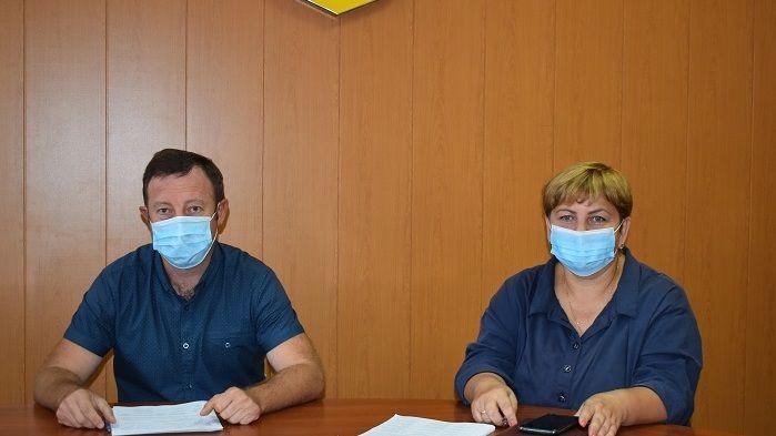 Андрей Олияр провел заседание комиссии по оказанию адресной материальной помощи гражданам района