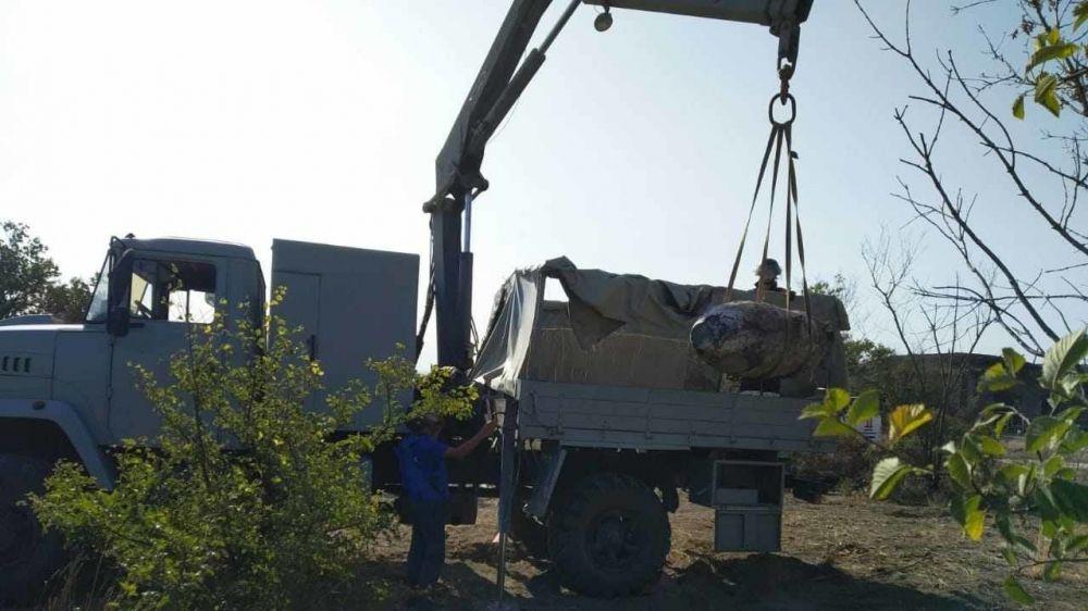 Крымские спасатели уничтожили 17 взрывоопасных предметов времен ВОВ