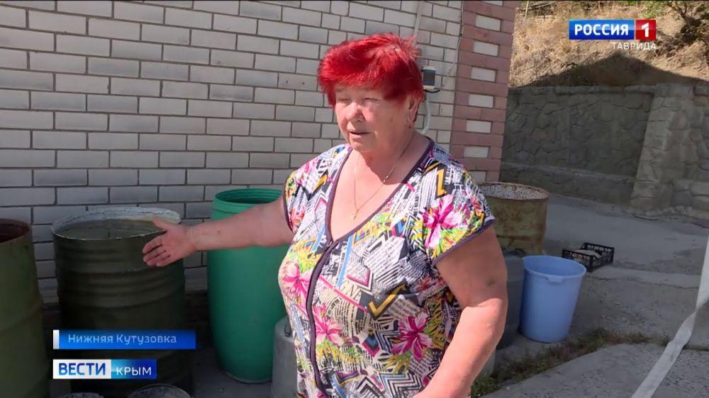 20 лет по графику: в селе под Алуштой обострилась проблема с водой