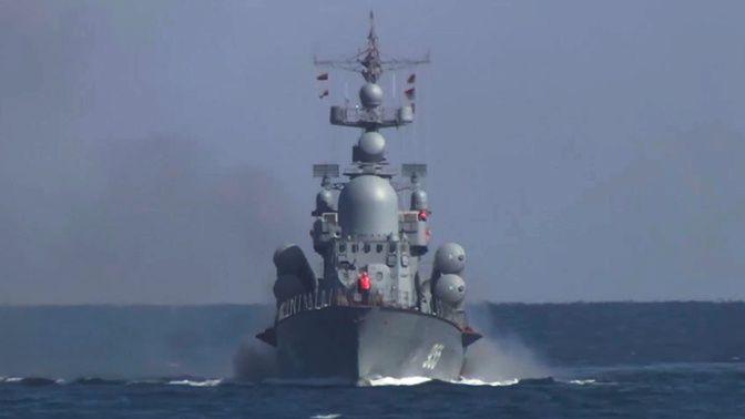 Корабли Черноморского флота вернулись в пункты постоянной дислокации после учений