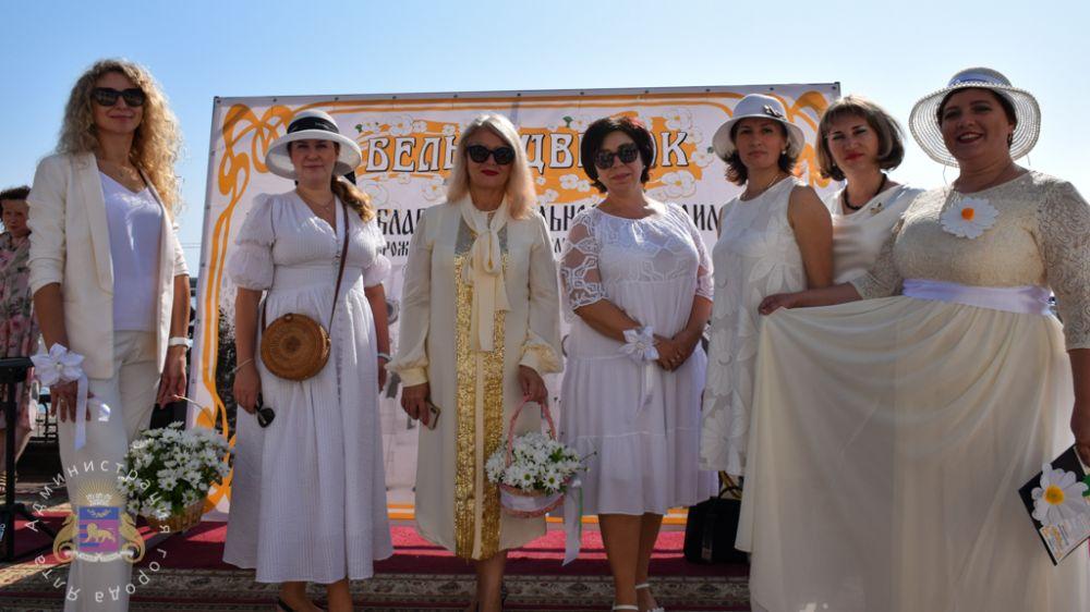 В Ялте состоялась благотворительная акция «Белый цветок»
