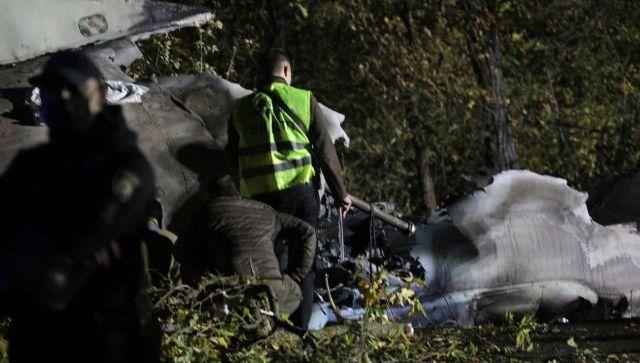 В авиакатастрофе под Харьковом погибло 26 военных и курсантов