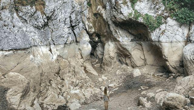 Под Сочи пересох один из Аргунских водопадов - фото