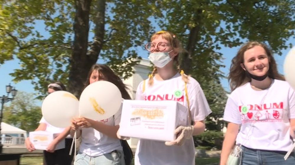 В Севастополе состоялась благотворительная акция «Белый цветок»