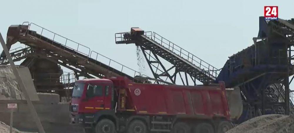В Крыму проверяют карьеры на законную добычу ископаемых