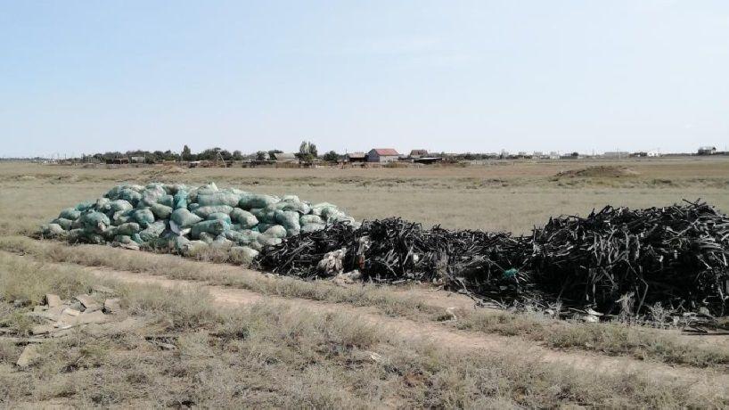 Госинспекторами Минприроды Крыма выявлена свалка на территории городского округа Армянск