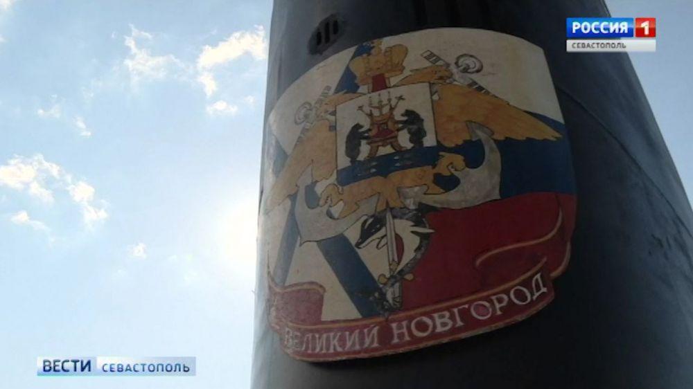 Экипаж подлодки «Великий Новгород» сдаёт первую курсовую задачу