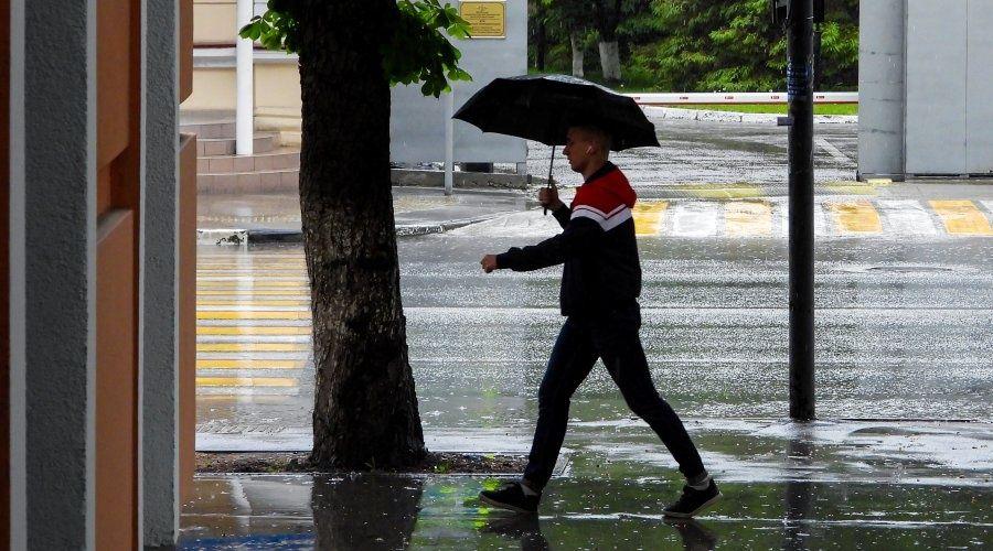 Сильные ливни ожидаются в Крыму в ближайшие два дня
