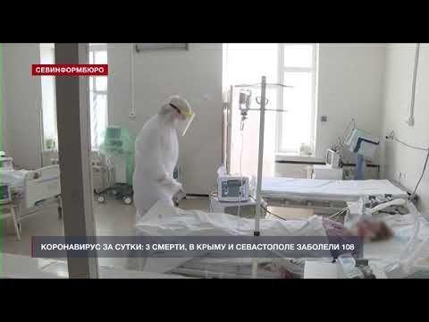 108 человек за сутки заболели COVID-19 в Крыму и Севастополе