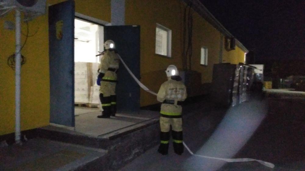 Сотрудники ГКУ РК «Пожарная охрана Республики Крым» продолжают повышать профессиональные навыки