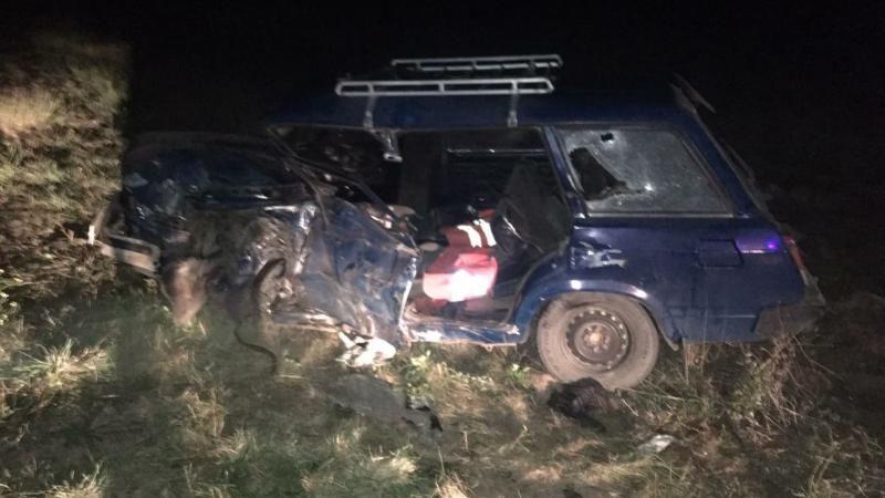 В Крыму два человека пострадали в лобовом ДТП
