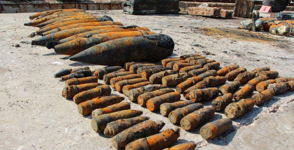 В Крыму с затопленного теплохода «Жан Жорес» подняли 18 тысяч боеприпасов