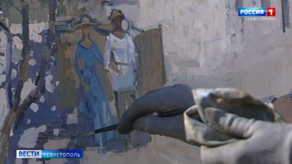 На Федюхиных высотах в Севастополе стартовал художественный пленэр