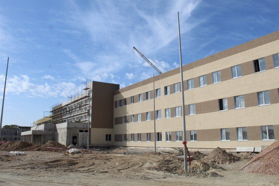 В бухте Казачья строится школа более чем на 700 детей