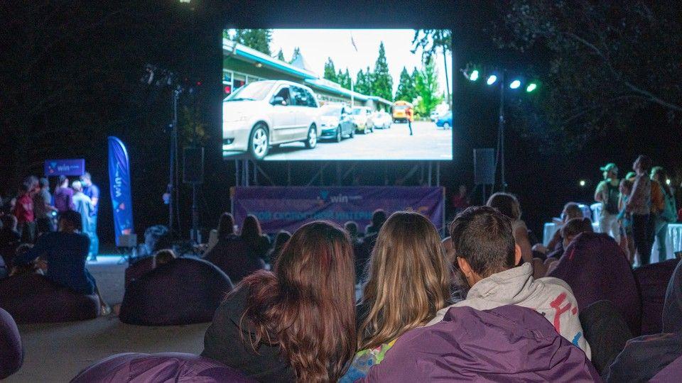 В Гагаринском парке Симферополя прошел кинофестиваль WINfest
