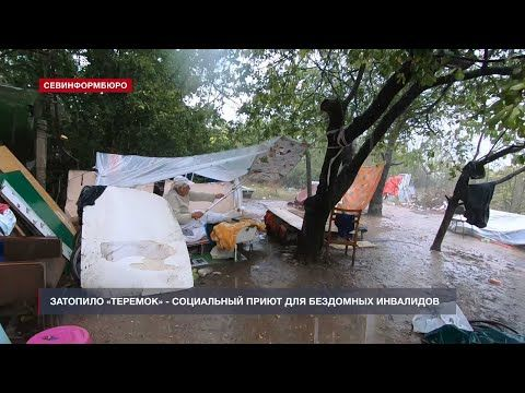В Севастополе затопило приют для бездомных – чиновники бездействуют