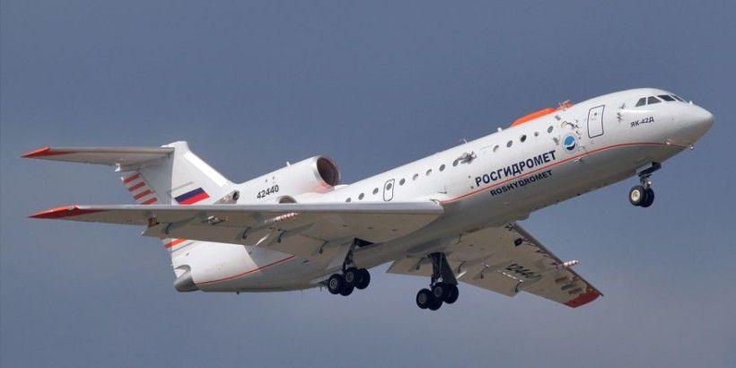 Вызывал дождь: над Крымом начал летать самолет Як-42