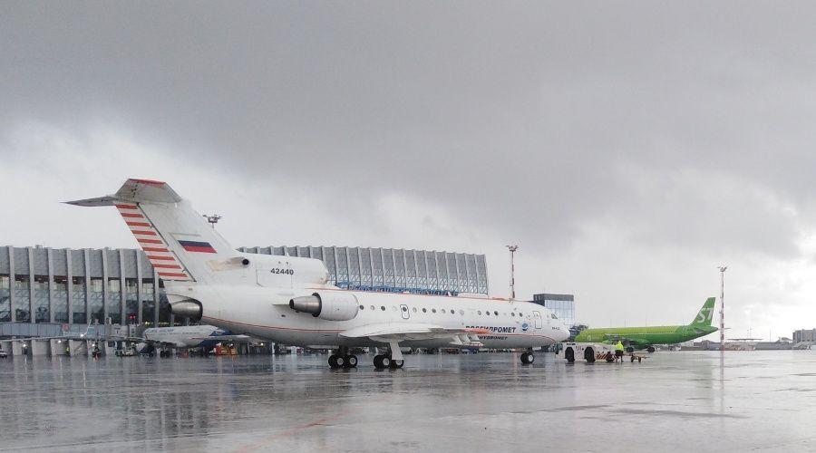 Вызывающий осадки самолет проведет в небе над Крымом более 35 часов