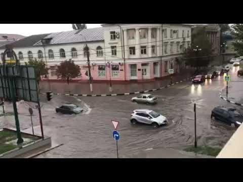 В Керчи «утонул» центр города